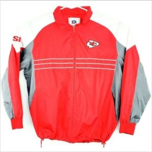 NFL Kansas City Chiefs Windbreaker Mens XL